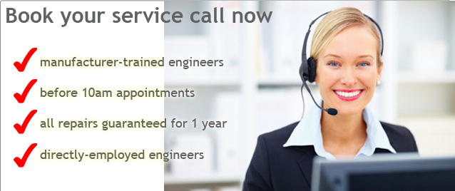 Book your service call now